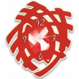 Arte Mania Orologio Scudo Rosso